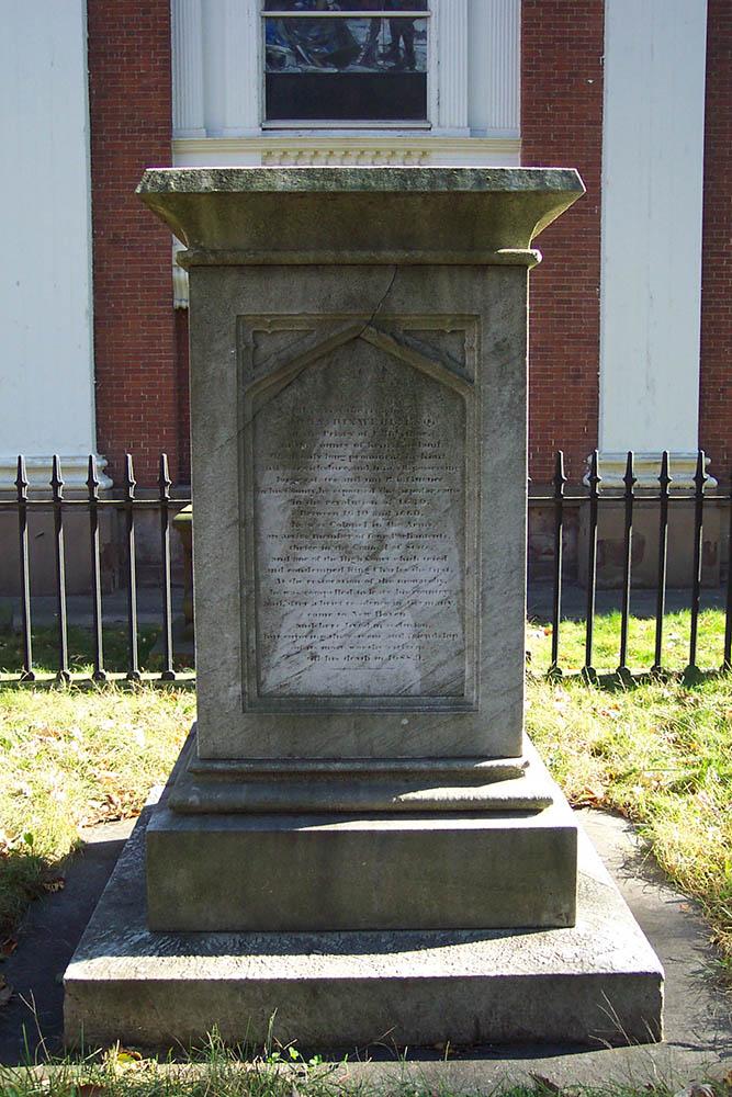 Exterior burial area