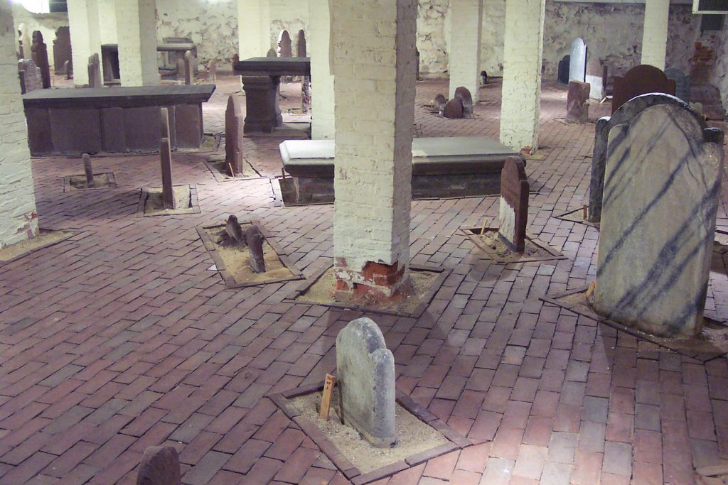 The Crypt beneath Center Church