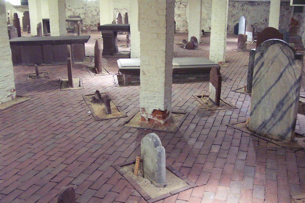 The Crypt beneath Center Church