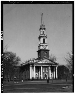 Center Church in May of 1937