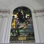 Davenport stained glass window by Tiffany