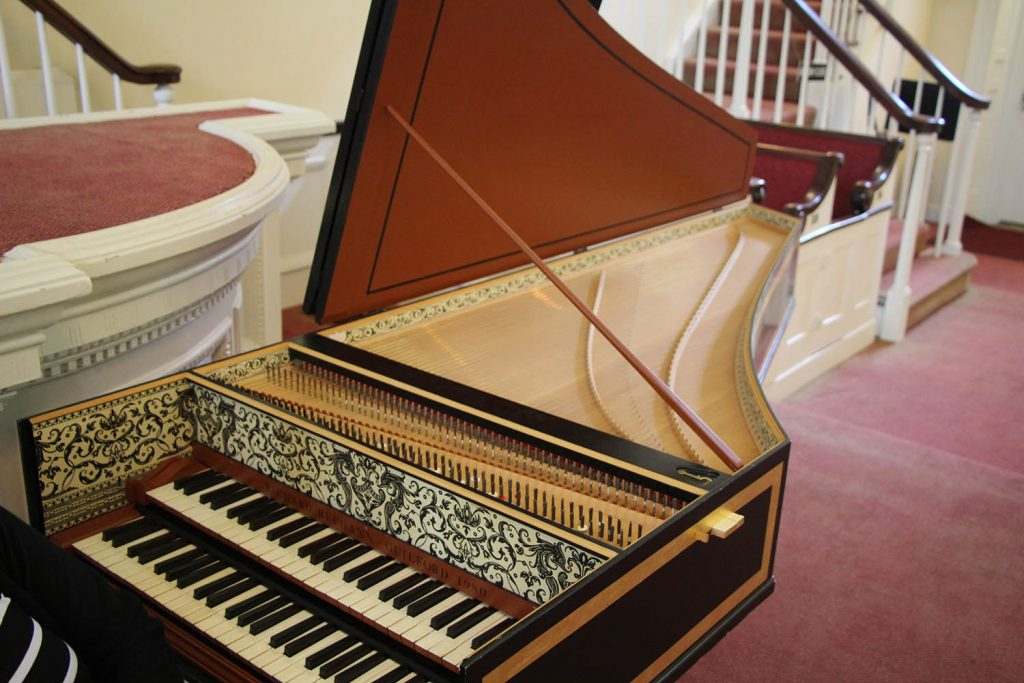 Richard Rephann harpsichord